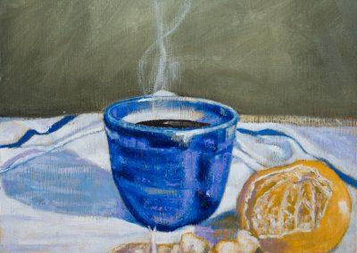 Coffee and Mandarin