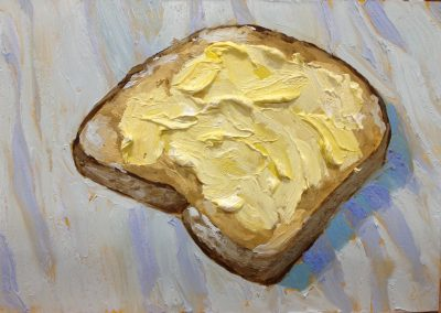 Student Bread Painting